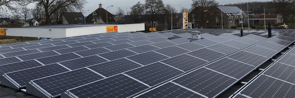 zonnepanelen bedrijfspand